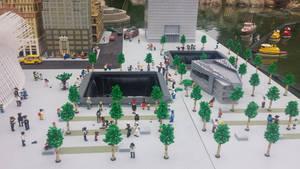 LEGO 9-11 Memorial