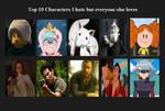 Top 10 Villains I HATE