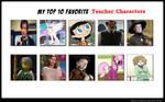 Top 10 Best Teacher Characters