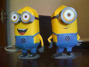 Despicable Me Minions papercraft