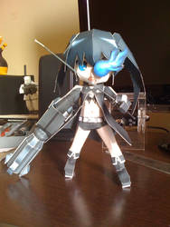 Black Rock Shooter Papercraft