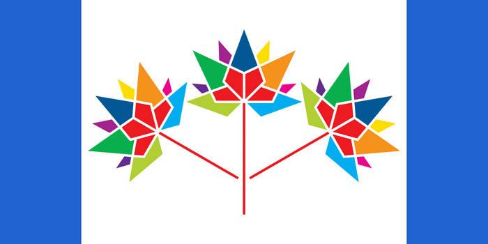 Canada 150 (Pearson Pennant style)