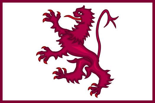 Balance of Power - Flag of (New) Kingdom of Leon