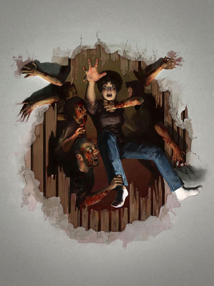 Zombie Attack by cosamo