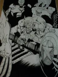 Spiderman's murder by Nikk0MittikkO