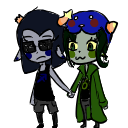 Equius x Nepeta shimeji WIP by Forteh