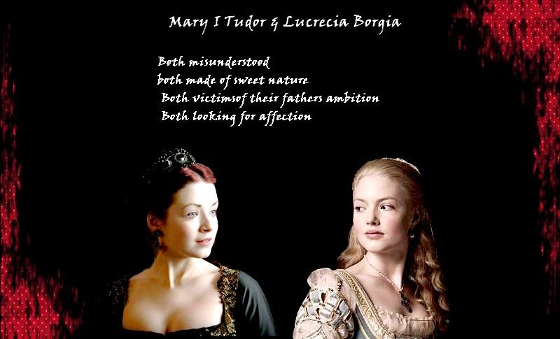 Mary and Lucrecia by Lucrecia-89