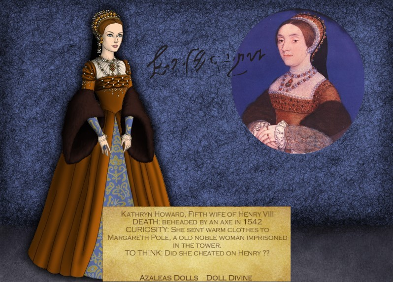 Tudor Queens Series- Kathryn Howard by Lucrecia-89