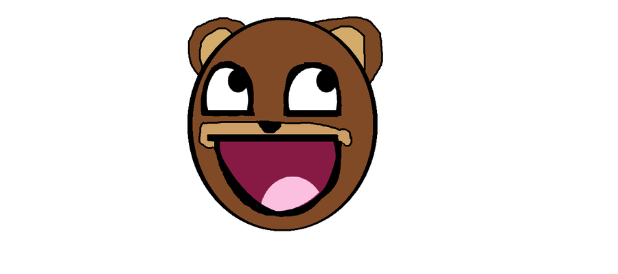 Pedobear awesome face by taurosftw on deviantart pedobear awesome face by taurosftw voltagebd Image collections