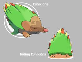Cunikidna and hiding Cunikidna by Marix20