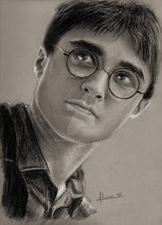 Harry Potter by anakomb