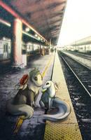 Waiting the train - TWWM