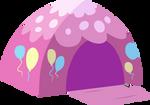 Vector - Pinkie Pie's Tent