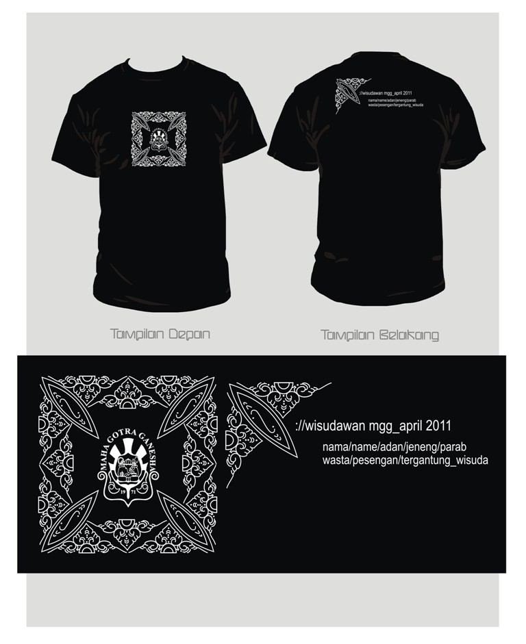 design baju wisuda mgg by unfaith12