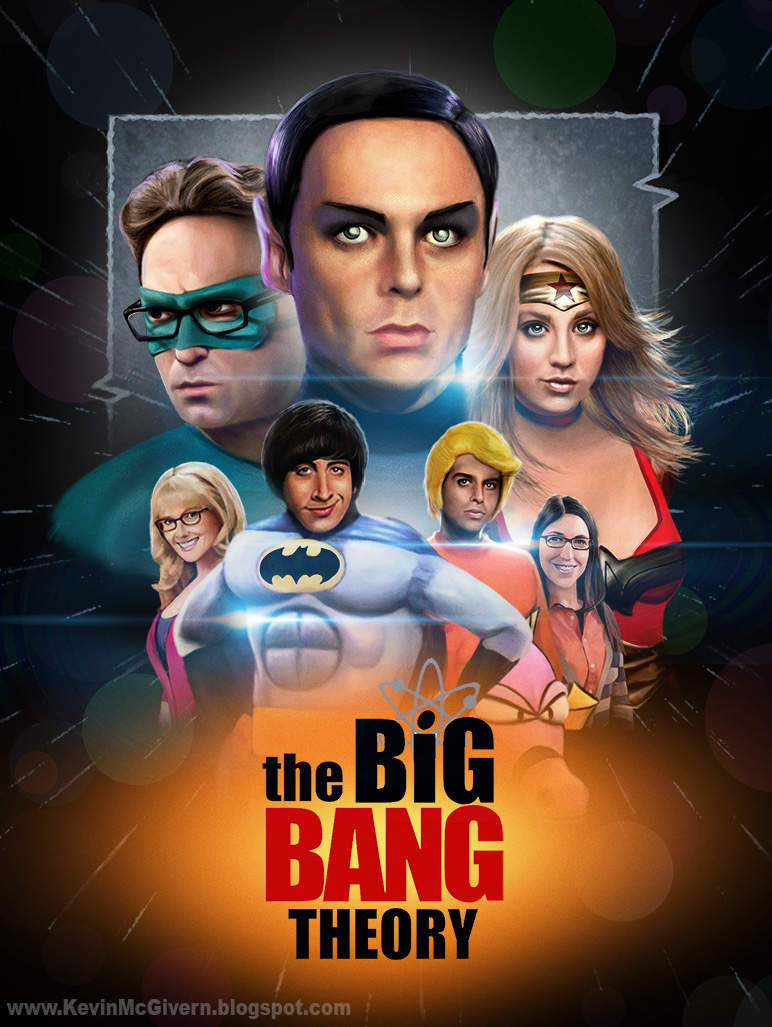 Big Bang Theory The Movie? by kevmcgivernart