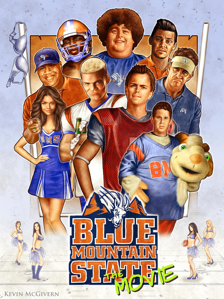 Blue Mountain State movie poster by kevmcgivernart on ...
