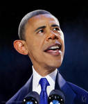 Barack Obama Caricature by kevmcgivernart