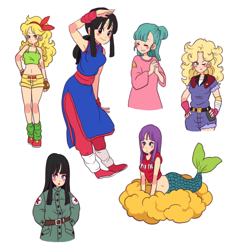 dragonball girls