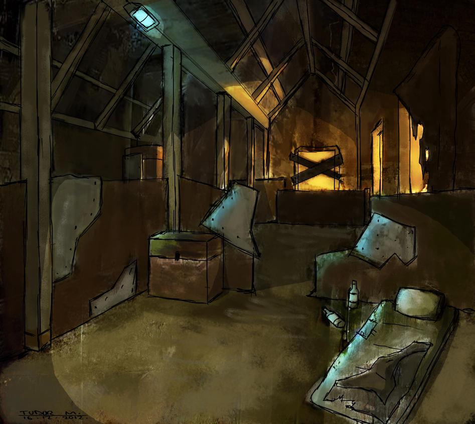 Post Apocalyptic Shelter By Vikinginmyshower On Deviantart
