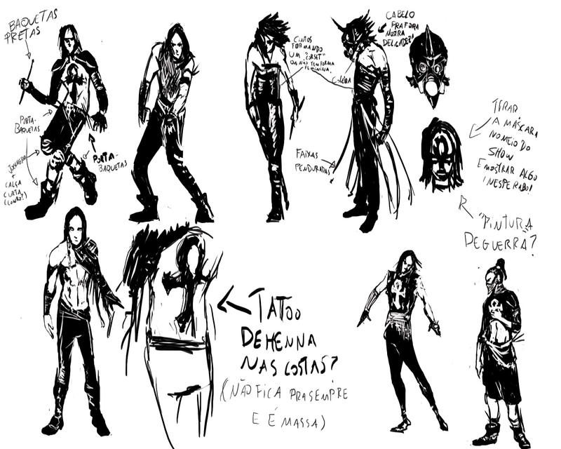 D. Meister`s Sketches