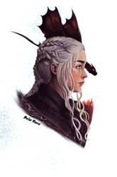 Daenerys Targaryen by RamaBelar