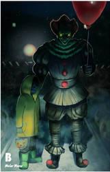Pennywise - Halloween by RamaBelar