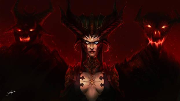 Lilith - Diablo 4 (Fan Art)