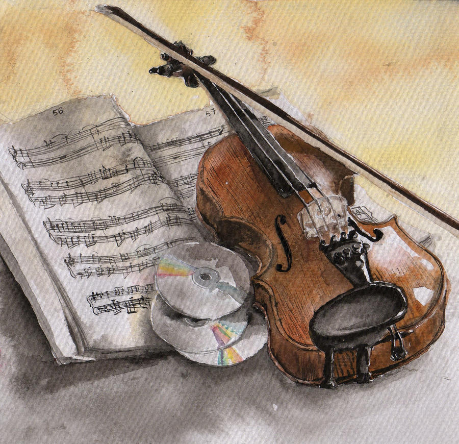 Violin Wallpaper: Violin By NitTata On DeviantArt