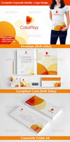 Color Studio Logo and Stationery by nasirktk