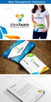 Ideal Management Logo and Stationery by nasirktk