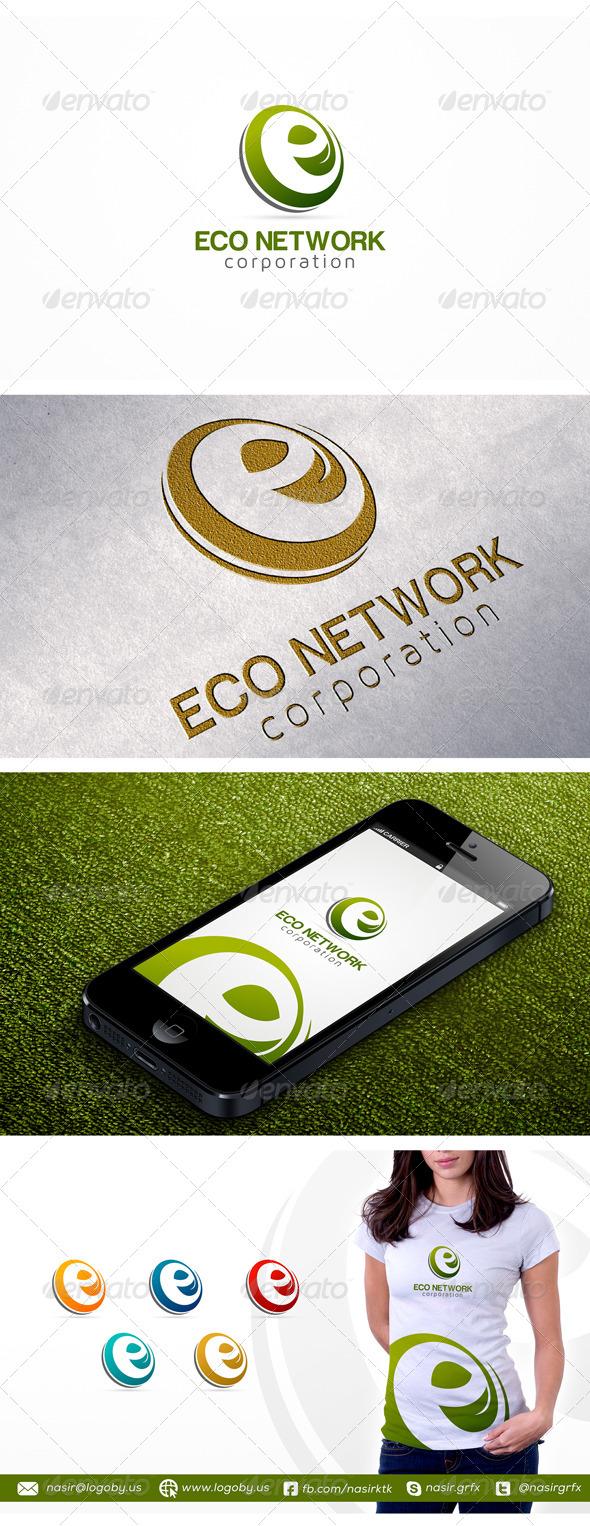 Letter E Logo Template by nasirktk