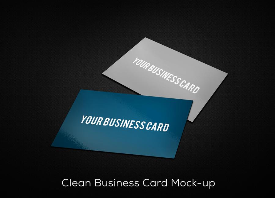 Free Business Card Mockup (PSD) by nasirktk on DeviantArt