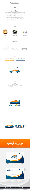 share2air Logo by nasirktk