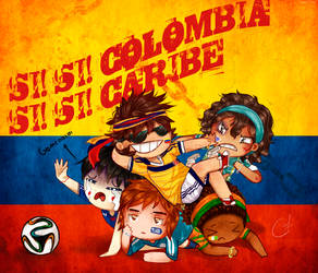 Colombia campeona by B-caroly