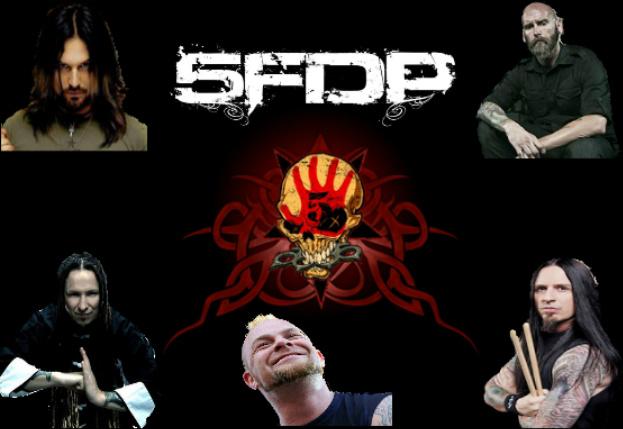 Five Finger Death Punch Custom Wallpaper By Metalguy95