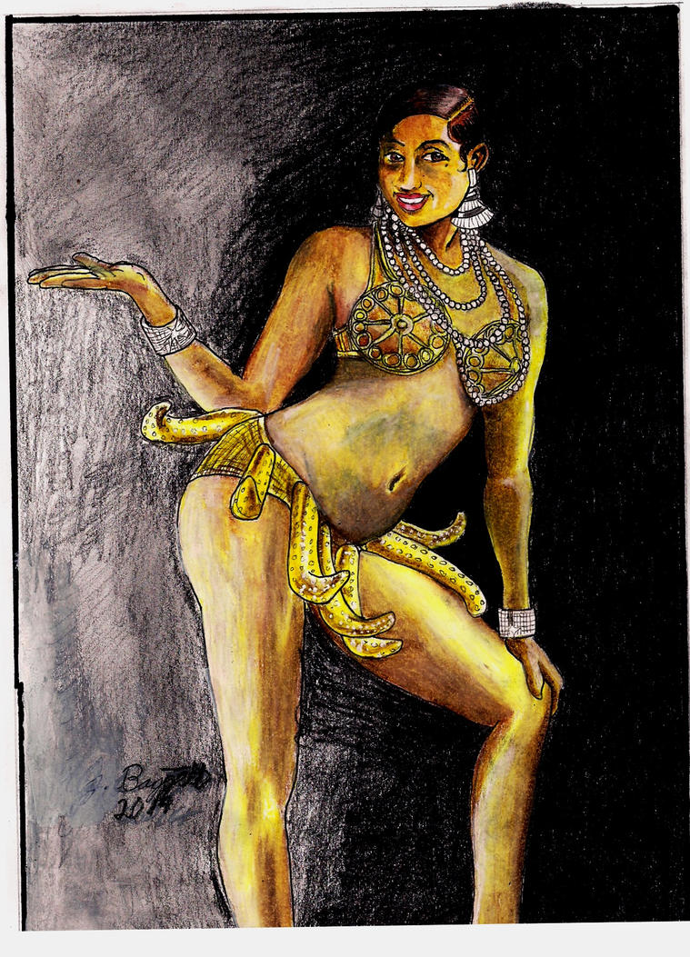 Josephine Baker: The Bronze Venus by Punch-line-designs
