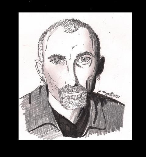 Quick Drawing: Jackie Earle Haley by Punch-line-designs