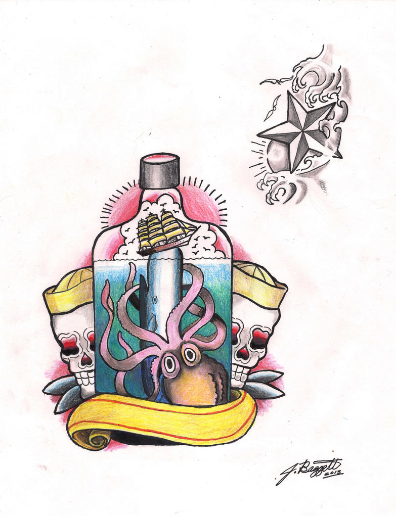 Tattoo Flash Art by Punch-line-designs