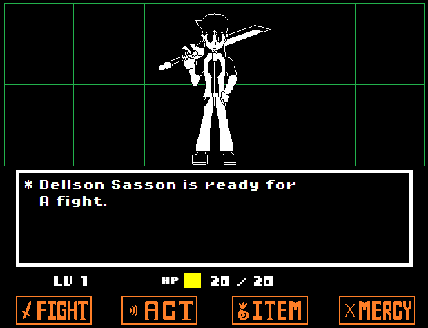 Dellson Undertale Encounter - RP by Dell-AD-productions