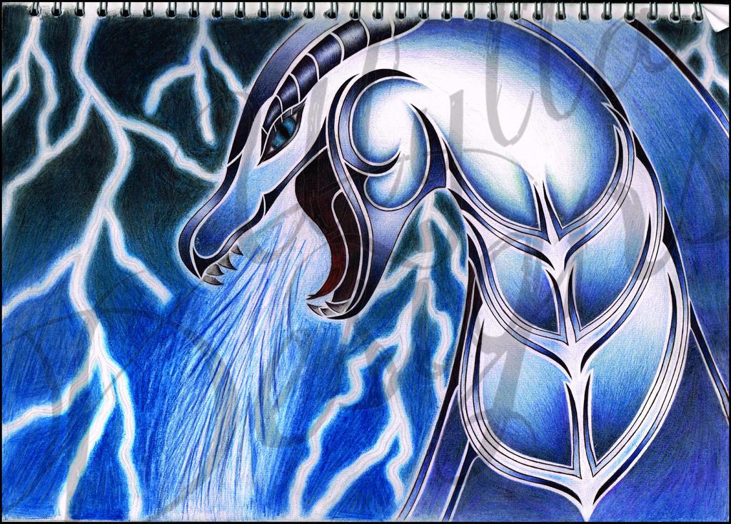 sea serpent tribal piece by ulylla on deviantart