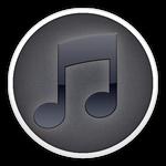 itunes modded icon black