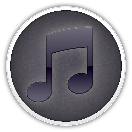 itunes modded icon black by deviantgiak on DeviantArt