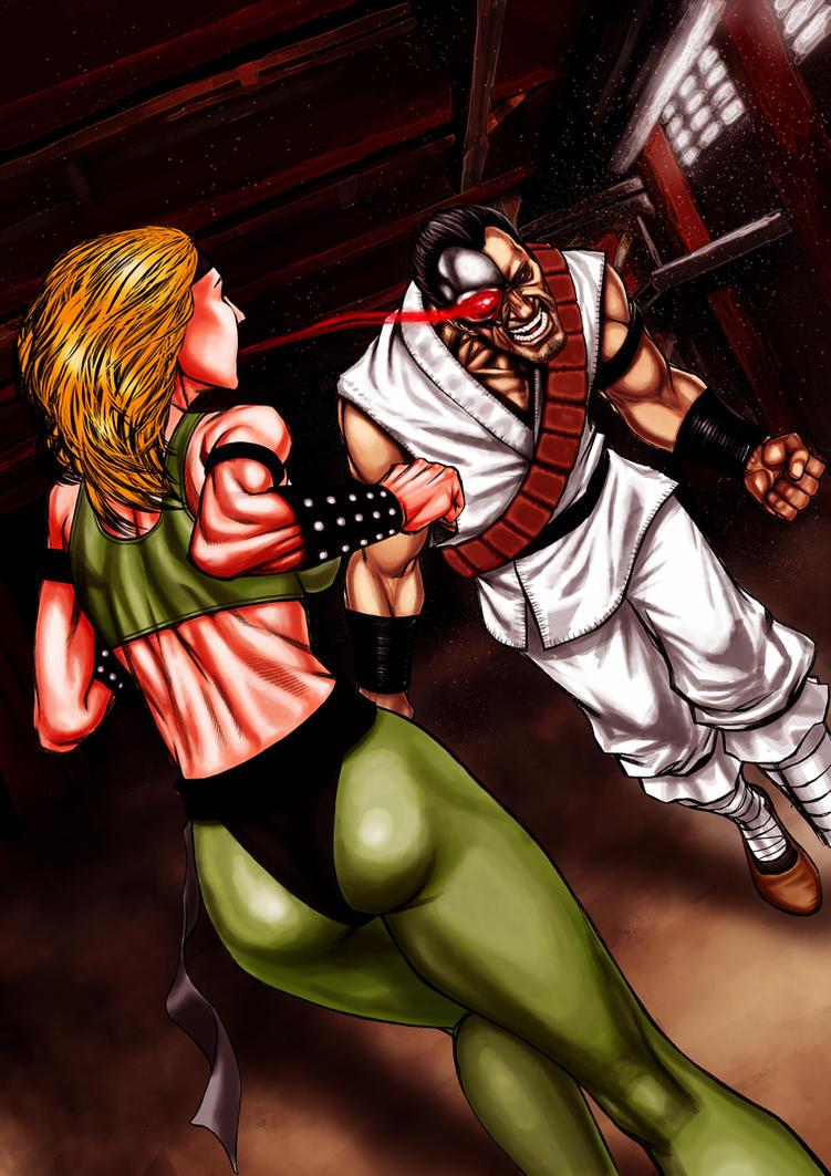 Mortal Kombat I tribute by Kachakacha