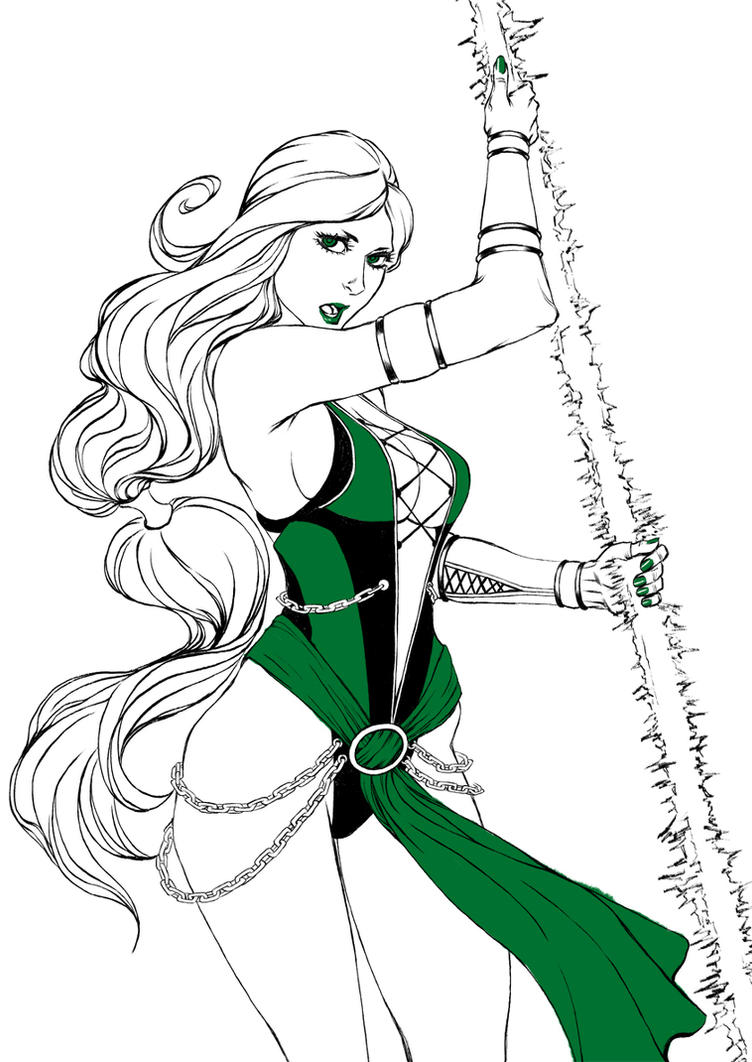 Jade  - sketch by Kachakacha