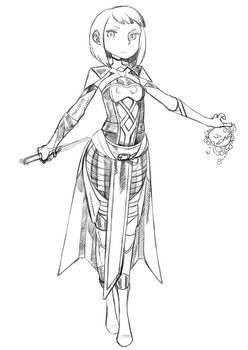 Skarlet 11 - sketch