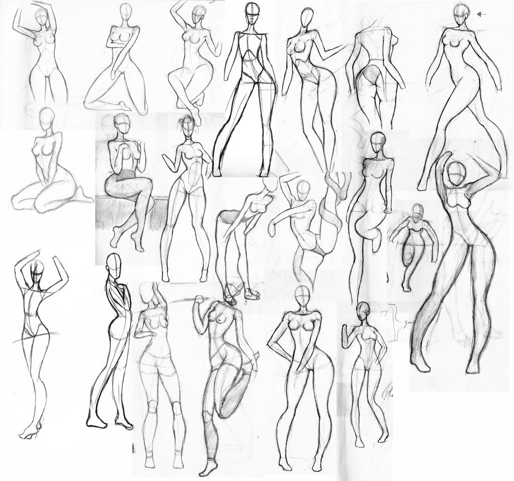 This is a graphic of Bright Women Anatomy Drawing