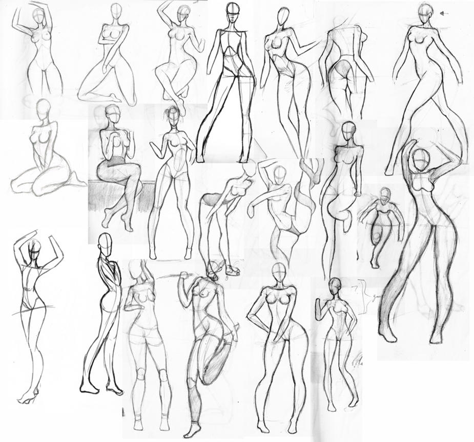 female anatomy sketches by JRonaldo95 on DeviantArt