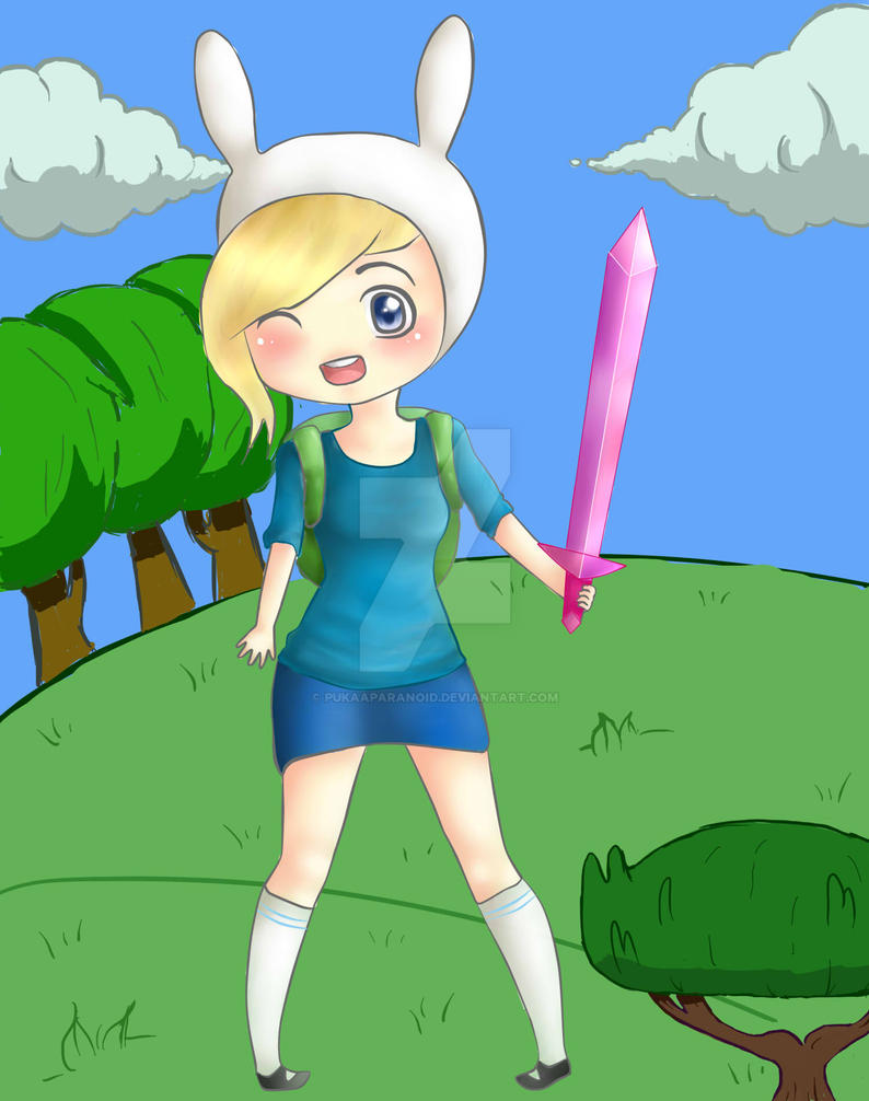 Fionna the Human by PukaaParanoid