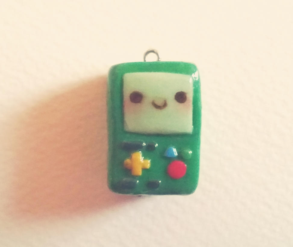 Polymer Clay BMO by PukaaParanoid