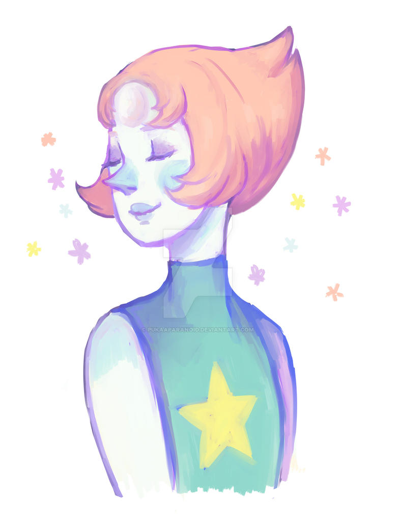 Pearl - Steven Universe  ( with Speedpaint ) by PukaaParanoid